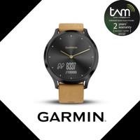 Garmin Vivo Move HR Premium Black Tan Garansi Resmi TAM 2 Tahun