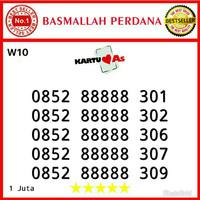 Nomor cantik Telkomsel As Seri Panca 88888 0852 88888 301 mw10