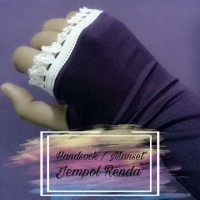 Handsock Manset Jempol Renda