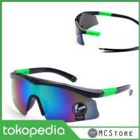 Outdoor Sport Mercury Sunglasses for Man and Woman - 009188 - Black