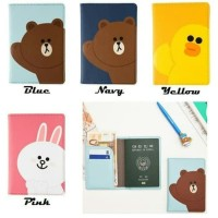 Passport case / sampul passport karakter LINE