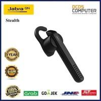 JABRA BLUETOOTH HEADSET/HEADPHONE/HANDSFREE/EARPHONE STEALTH BLACK ORI
