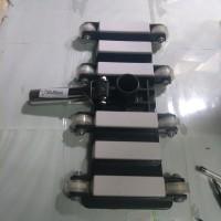 kepala vakum kolam renang filter 8 roda