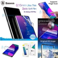 Baseus Galaxy S10 Plus 0.15mm Full Screen Curved Soft Screen Protector