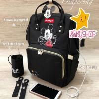 Tas Bayi Anello Diaper Bag Mickey Mouse Diaperbag