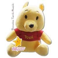 Boneka Tarik Music Boneka Gantungan Stroller Disney Pooh