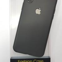 Case iPhone X / XS  XR XS Max Slim Silicone Apple Logo Casing Premium