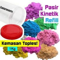 Pasir Kinetik Refill PLAY SAND - 1 KG - Pasir Ajaib