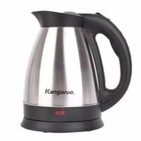 KANGAROO WATER KETTLE - PEMANAS AIR - TEKO LISTRIK 600WATT 1.5L KG335N