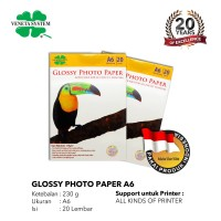 GLOSSY PHOTO PAPER A6