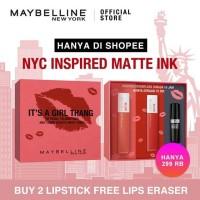 Maybelline Super Power Box (2 Stay Matte Ink + Super Eraser)
