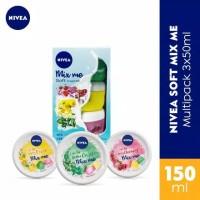 Nivea Soft Mix Me Multipack 3 X 50Ml
