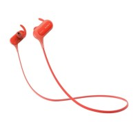 SONY MDR-XB50BS Sports In-Ear Headphon- Red