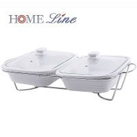 Food Warmer Basi Penghangat Segi 2x11 inch Home Line