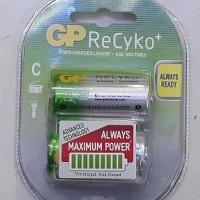 Baterai ReCyKo ukuran C Battery GP ReCyKo Rechargeable Best Deals