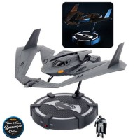 NEW 1:32 JADA METALS BATMAN V SUPERMAN BATWING LIGHT UP DISPLAY STAND