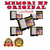 TERLARIS MICRO SD V-GEN Memori Hp Memori Card Garansi Resmi 64GB