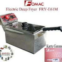 Deep Fryer Listrik Fomac FRY-E16M Mesin Penggorengan nu Best deals