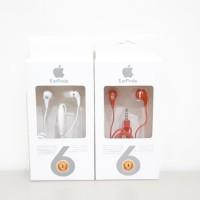 Handsfree Apple Earbuds MD827FE/A - Headset Music + Telp