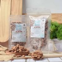 Sea Salt Roasted Almond (Panggang) 250 Gr