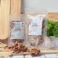 Sea Salt Roasted Almond (Panggang) 1 Kg