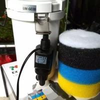 Filter Aquarium External Canister Topka Lw603B Aquascape