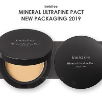 Innisfree Mineral Ultrafine Pact - New Packing 2019