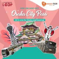 TIKET OSAKA CITY PASS 1 DAY