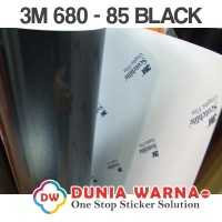 3M SCOTCHLITE BLACK 680-85 Flash Reflective Magic Silver 60 CM ROLL