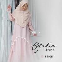 GAMIS ONLY GLADIA DRESS BEIGE AMILY BAJU MUSLIMAH DAILY FASHION MUSLIM