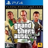 PS4 Grand Theft Auto V Premium Online Edition Region 3/Asia/English