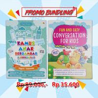 Bundling Kamus Anak Bergambar & Conversation For Kids