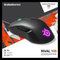 Steelseries Mouse Rival 105 - Kana Ergonomic Shape Gaming Big Sale