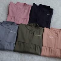 Orlin top / blouse murah unik / baju kekinian / busui friendly