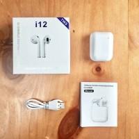 2019 Baru I12 Mini Tws Touch Bluetooth 5.0 Earphone 3D Stereo