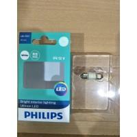 Promo Toko Baru! Philips Festoon LED 6000K 30mm-Lampu Interior