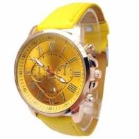Geneva 263 Jam Tangan Wanita Analog Warna Kuning