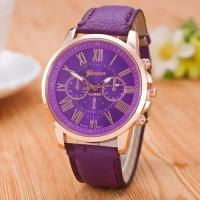Geneva 263 Jam tangan Wanita Analog Warna Ungu