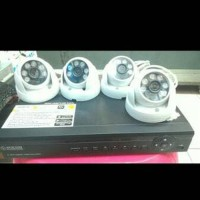 Paket Cctv Ahd 1-3mp Dvr 8 Channel 4 Camera Hdd 1TB (Tinggal Pasang)