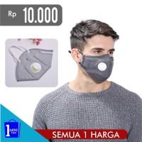Harga masker mulut hidung outdoor reusable murah perlengkapan kesehatan   antitipu.com