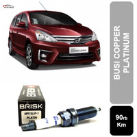 Busi Mobil Nissan Livina 1500cc 1800cc BRISK Platin MR15LP-1
