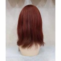 Wig Human Hair Asli Maroon 1700B