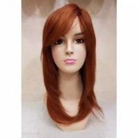 Wig Human Hair Asli 117K Light Brown