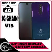 NEW Smartphone Bingo SG Ghain V15 64GB Ram 4GB Face ID Finger Print