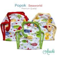 Harga 3 pcs popok kain bayi aruchi bahan lembut isi 3 | antitipu.com