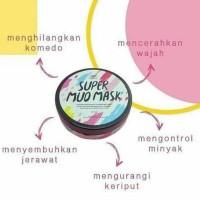 SUPER MUD MASK FLEECY / MASKER LUMPUR MATI FLEECY ORIGINAL 100%