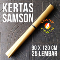 Kertas Coklat Samson 90 x 120 cm 80 gsm - Bungkus Paket / Bahan Amplop