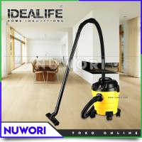 Vacum Cleaner Idealife IL-100V 2 in 1 Wet and Dry With Blow Function