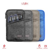 Pouch Denim for traveling + Cable