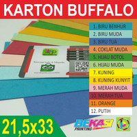 Kertas Jilid Buffalo / Karton Cover uk F4